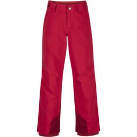 Marmot Vertical Pants Boys, rouge